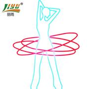 LIYU/��雨白色外皮LED柔性霓虹�糨�廓亮化防水