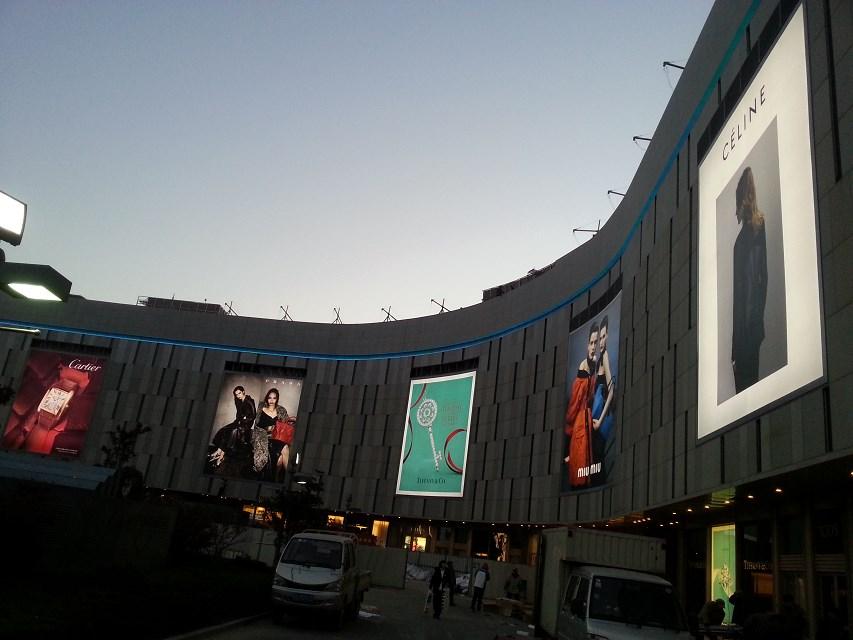 杭州海信广场户外灯箱