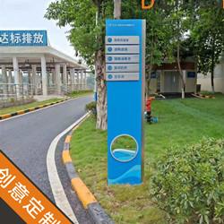 """人水和谐,稻田助力""""重庆水务集团豪洋8个厂区""""标识系统设计"""