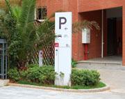 云南映象小区停车场指示牌
