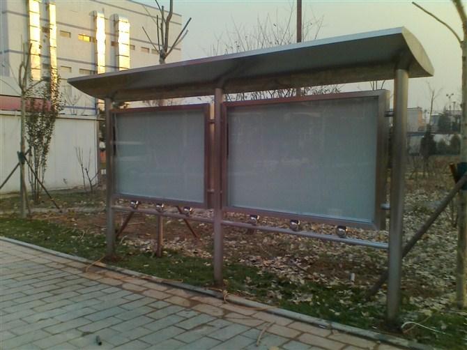 学校不锈钢宣传栏