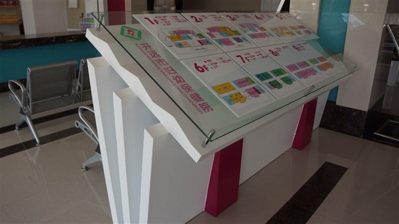 云南省开远市妇幼保健院楼层总平面图