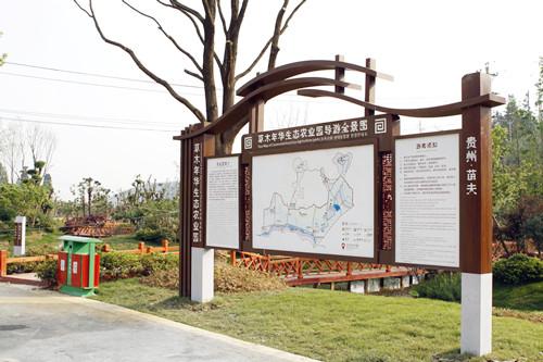>> 重庆笨鸟标牌景区总导览 标识类别: 制作工艺
