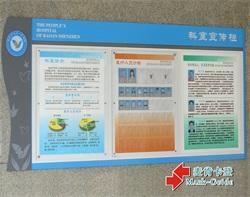 上海中山医院科室宣传牌