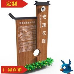 重庆休闲景区标识牌