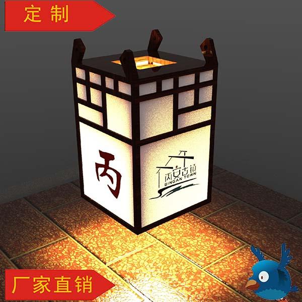 重庆笨鸟景区定制标识灯箱