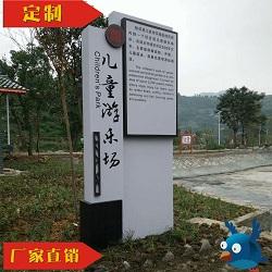 重庆笨鸟景区定制介绍牌