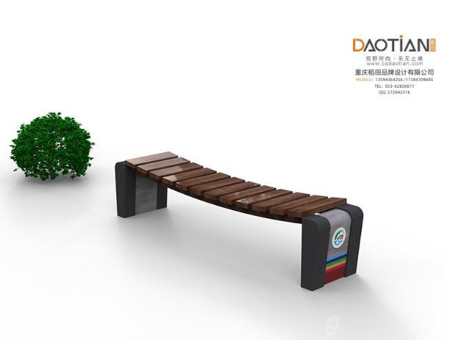景区实木椅子