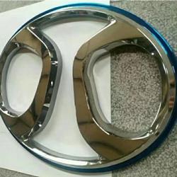 北汽不锈钢三维立体车标门头logo招牌标志