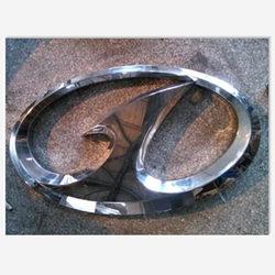一汽不锈钢三维立体背光车标logo